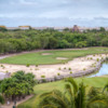 View of a green from The Nicklaus Par Three Experience at Vidanta Riviera Maya